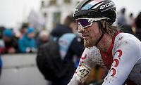 Bartosz Mikler (POL) post-race<br /> <br /> U23 men's race<br /> <br /> UCI 2016 cyclocross World Championships / Zolder, Belgium