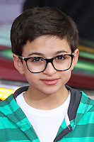 """HOLLYWOOD, LOS ANGELES, CA, USA - MARCH 11: J. J. Totah at the World Premiere Of Disney's """"Muppets Most Wanted"""" held at the El Capitan Theatre on March 11, 2014 in Hollywood, Los Angeles, California, United States. (Photo by Xavier Collin/Celebrity Monitor)"""