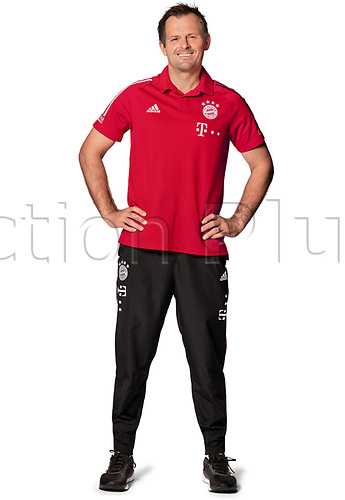 26th October 2020, Munich, Germany; Bayern Munich official seasons portraits for season 2020-21;  Torwarttrainer Toni Tapalovic