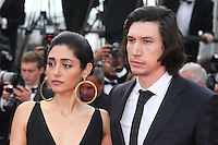 GOLSHIFTEH FARAHANI AND ADAM DRIVER - RED CARPET OF THE FILM 'PATERSON' AT THE 69TH FESTIVAL OF CANNES 2016