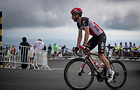 former Ventoux)winner Thomas De Gendt (BEL/Lotto Soudal) coming over the Mont Ventoux<br /> <br /> Stage 11 from Sorgues to Malaucène (199km) running twice over the infamous Mont Ventoux<br /> 108th Tour de France 2021 (2.UWT)<br /> <br /> ©kramon