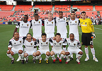 Starting eleven of Real Salt Lake during an Open Cup match against D.C. United at RFK Stadium, on June 2 2010 in Washington DC. DC United won 2-1.