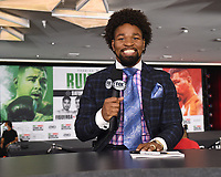 LOS ANGELES, CA - APRIL 30: Shawn Porter at the official weigh-in for the Andy Ruiz Jr. vs Chris Arreola Fox Sports PBC Pay-Per-View in Los Angeles, California on April 30, 2021. The PPV fight is on May 1, 2021 at Dignity Health Sports Park in Carson, CA. (Photo by Frank Micelotta/Fox Sports/PictureGroup)