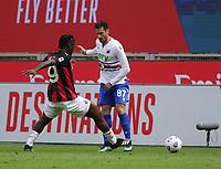Milano 03-04-2021<br /> Stadio Giuseppe Meazza<br /> Serie A  Tim 2020/21<br /> Milan - Sampdoria<br /> Nella foto: Candreva Kessie                                      <br /> Antonio Saia Kines Milano