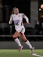 Hannah Eurlings (9 OHL) runs during a female soccer game between Oud Heverlee Leuven and Sporting de Charleroi on the seventh matchday of the 2020 - 2021 season of Belgian Womens Super League , sunday 15 th of November 2020  in Heverlee , Belgium . PHOTO SPORTPIX.BE | SPP | SEVIL OKTEM