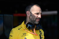 March 15, 2019: The managing director of the Renault F1 Team Cyril Abiteboul during practice session two at the 2019 Australian Formula One Grand Prix at Albert Park, Melbourne, Australia. Photo Sydney Low