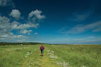 Belhaven Bay and the John Muir Way, Dunbar, East Lothian
