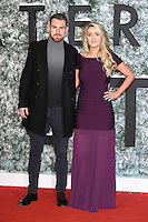 """Aaron and Colleen Ramsey<br /> at the European premiere of """"Collateral Beauty"""" at the Vue Leicester Square , London.<br /> <br /> <br /> ©Ash Knotek  D3213  15/12/2016"""