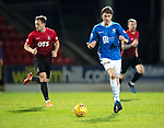 St Johnstone v Kilmarnock…24.11.18…   McDiarmid Park    SPFL<br />Murray Davidson drives forward<br />Picture by Graeme Hart. <br />Copyright Perthshire Picture Agency<br />Tel: 01738 623350  Mobile: 07990 594431