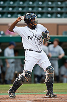 Julio Rodrigue (58) of the Lakeland Flying Tigers during a game vs. the Charlotte Stone Crabs May 11 2010 at Joker Marchant Stadium in Lakeland, Florida. Charlotte won the game against Lakeland by the score of 3-0.  Photo By Scott Jontes/Four Seam Images