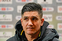 Watford manager Xisco Munoz after the Sky Bet Championship behind closed doors match between Watford and Wycombe Wanderers at Vicarage Road, Watford, England on 3 March 2021. Photo by David Horn.