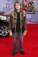 """HOLLYWOOD, LOS ANGELES, CA, USA - MARCH 11: Steve Whitmire, Kermit at the World Premiere Of Disney's """"Muppets Most Wanted"""" held at the El Capitan Theatre on March 11, 2014 in Hollywood, Los Angeles, California, United States. (Photo by Xavier Collin/Celebrity Monitor)"""