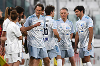 John Elkann Andrea Agnelli Carlos Sain Charles Leclerc Carlos Tavares during the charity football hearth match between Singers national Team and Champions for the medical research at Juventus Stadium in Torino (Italy), May 25th, 2021. Photo Daniele Buffa / Image Sport / Insidefoto
