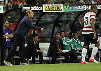 MEXICO CITY, MEXICO - AUGUST 15, 2012:  Jurgen Klinsmann coach of the USA MNT and Terrence Boyd (USA) against  Mexico during an international friendly match at Azteca Stadium, in Mexico City, Mexico on August 15. USA won 1-0.
