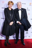 NEW YORK, NY 21.11.2016 - EMMY-2016 -   Piv Bernth (L) durante tapete vermelho do Emmy Internacional 2016 prêmio dos melhores atores e novelas da TV, em Nova York, nos Estados Unidos na noite desta segunda-feira, 21. (Foto: Vanessa Carvalho/Brazil Photo Press)