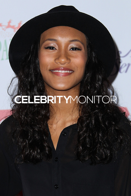 HOLLYWOOD, CA - DECEMBER 01: Sydney Park arriving at the 82nd Annual Hollywood Christmas Parade held at Hollywood Boulevard on December 1, 2013 in Hollywood, California. (Photo by Xavier Collin/Celebrity Monitor)