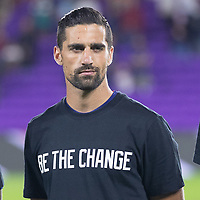 ORLANDO CITY, FL - JANUARY 31: Sebastian Lletget of the United States during a game between Trinidad and Tobago and USMNT at Exploria stadium on January 31, 2021 in Orlando City, Florida.