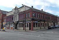 Pictured: The Sir Samuel Romilly pub  in Barry, Wales, UK. STOCK PICTURE<br /> Re: Tim Martin, the owner of Wetherspoon has clashed with council officials after the town's coat of arms was used on a pub carpet in Barry, south Wales, UK.<br /> The Town Council has demanded that the new carpet at the Sir Samuel Romilly pub to be removed.<br /> The carpet was fitted in in the Vale of Glamorgan seaside town pub during a £715,000 revamp.<br /> The case could be the first heard at the Court of Chivalry -set up in the 14th Century to settle coat of arms disputes- in more than 60 years.<br /> The court last sat in 1954.