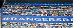 22.08.2020 Rangers v KilmarnocK: New faces on the fan mosaic this afternoon