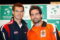 5-4-07, England, Birmingham, Tennis, Daviscup England-Netherlands, First match on:Andy Murray against Raemon Sluiter
