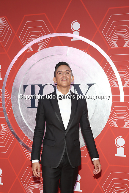 Matthew Lopez attends the 74th Tony Awards-Broadway's Back! arrivals at the Winter Garden Theatre in New York, NY, on September 26, 2021.