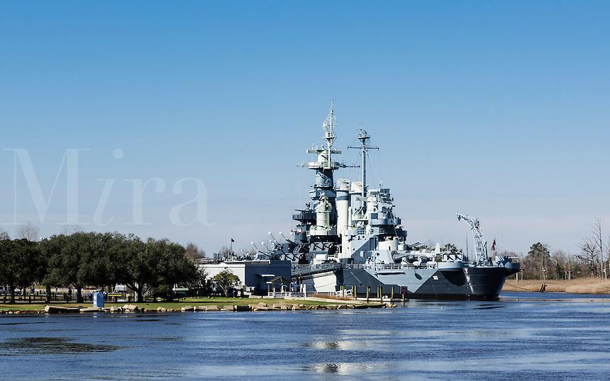 Museum battleship USS North Carolina, Wilmington, North Carolina, USA