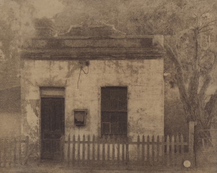 'The Old Bank'<br /> Cyanotype + Coffee toning
