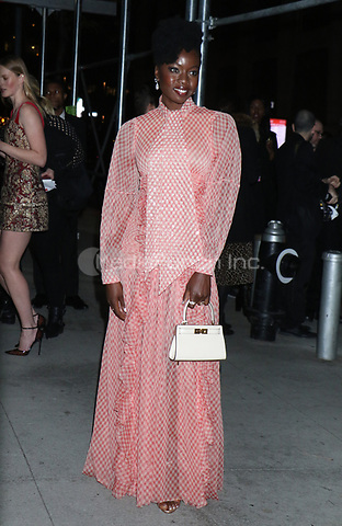 NEW YORK, NY - NOVEMBER 11: Danai Gurira at the 2019 Glamour Women of the Year Awards at Alice Tully Hal, Lincoln Center in New York City on November 11, 2019. Credit: RW/MediaPunch