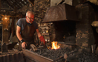A traditional blacksmith is hoping to pass his skills to the next generation