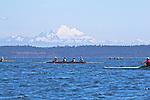 Port Townsend, Rat Island Regatta, rowers, racing, Frank C, Sound Rowers, Rat Island Rowing Club, Quads, Puget Sound, Olympic Peninsula, Washington State, water sports, rowing, kayaking, competition,