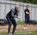 17.07.2021 Rangers B v Bo'ness Utd: Rangers coach David McCallum