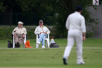Spectators look on during Hornchurch CC vs Wanstead and Snaresbrook CC, Hamro Foundation Essex League Cricket at Harrow Lodge Park on 10th July 2021