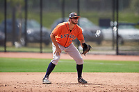 Houston Astros Spencer Johnson (65) during a minor league Spring Training game against the Washington Nationals on March 28, 2017 at the FITTEAM Ballpark of the Palm Beaches in West Palm Beach, Florida.  (Mike Janes/Four Seam Images)