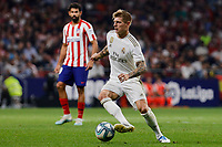 Toni Kroos of Real Madrid during La Liga match between Atletico de Madrid and Real Madrid at Wanda Metropolitano Stadium in Madrid, Spain. September 28, 2019. (ALTERPHOTOS/A. Perez Meca)<br /> Liga Spagna 2019/2020 <br /> Atletico Madrid - Real Madrid <br /> Foto Perez Meca Alterphotos / Insidefoto <br /> ITALY ONLY
