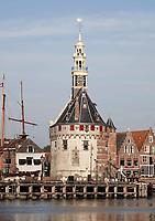 Nederland  Hoorn- September 2020 .  De Hoofdtoren aan de haven.   Foto : ANP/ Hollandse Hoogte / Berlinda van Dam