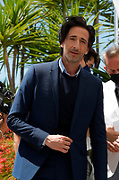"""CANNES, FRANCE - JULY 13: US actor Adrien Brody at photocall for the film """"The French Dispatch"""" at the 74th annual Cannes Film Festival in Cannes, France on July 13, 2021 <br /> CAP/GOL<br /> ©GOL/Capital Pictures"""