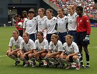 USA Women's Team, 2003 WWC USA Sweden.
