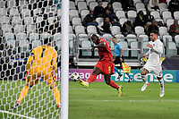 Romelu Lukaku of Belgium scores the goal of 2-0 during the Uefa Nations League semi-final football match between Belgium and France at Juventus stadium in Torino (Italy), October 7th, 2021. Photo Andrea Staccioli / Insidefoto