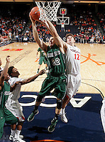 CHARLOTTESVILLE, VA- NOVEMBER 26:  Daniel Turner #22 of the Green Bay Phoenix fights for the loose ball with Joe Harris #12 of the Virginia Cavaliers during the game on November 26, 2011 at the John Paul Jones Arena in Charlottesville, Virginia. Virginia defeated Green Bay 68-42. (Photo by Andrew Shurtleff/Getty Images) *** Local Caption *** Joe Harris;Daniel Turner