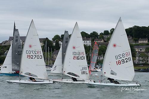 Laser Radial single-hander,Jonathan O'Shaughnessy (Sail number 189211) was runner up in the 2021 PY race PhotoL Bob Bateman