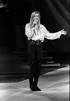 File Photo  -  Masse Julie<br /> <br /> au Telethon des Etoiles 1992, le 29 novembre