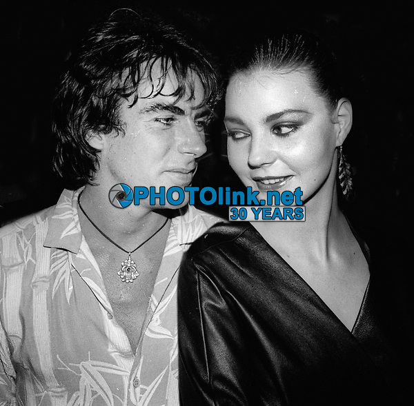 Michael Wilding and Maria Burton 1981<br /> Photo By Adam Scull/PHOTOlink.net