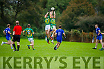 Action from Annascaul v Lispole in the West Kerry Football Championship.