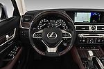 Car pictures of steering wheel view of a 2016 Lexus GS 350 4 Door Sedan Steering Wheel