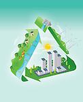 Illustrative image representing green concept
