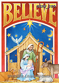 Randy, HOLY FAMILIES, HEILIGE FAMILIE, SAGRADA FAMÍLIA, paintings+++++CC-BELIEVE-Nativity_Randy-sm,USRW289,#xr#