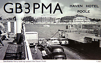BNPS.co.uk (01202 558833)<br /> Pic: DavidMorris/BNPS<br /> <br /> Postcard from Wessex Amateur Radio Group showing the Haven Hotel.<br /> <br /> Over 6,200 letters of objection have been lodged against controversial plans to replace a historic hotel with a 'soulless' block of flats at a millionaire's playground.<br /> <br /> The well-heeled residents of Sandbanks are up in arms about the £250million development which would see the Haven Hotel at the entrance to Poole Harbour in Dorset bulldozed.<br /> <br /> The 141-year-old building is where engineer Guglielmo Marconi established the world's first wireless communications. Under the plans, it would be replaced with a six-storey block of 119 luxury apartments.