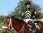 March 29, 2014: on Louisiana Derby Day at the Fairgrounds Race Course in New Orleans, LA. Mary M. Meek/ESW/CSM; Skyring and Joseph Rocco Jr. win the Mervin Muniz Memorial Handicap.  Owner Calumet Farm, trainer D. Wayne Lukas.