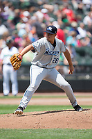 West Michigan Whitecaps starting pitcher Eudis Idrogo (26) in action against the Dayton Dragons at Fifth Third Field on May 29, 2017 in Dayton, Ohio.  The Dragons defeated the Whitecaps 4-2.  (Brian Westerholt/Four Seam Images)