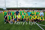 Tralee Gladiators playing their first match against Classic FC ladies team, and its the first match played by a mixed ability soccer team in the country in the KDL on Monday night.